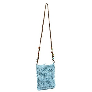 ys p 934s straw bag baby blue