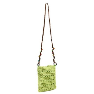 ys p 934s straw bag green