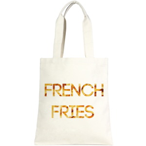 LOF LOA ECO153 french fries tote