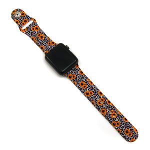 Watch Band 074d 08 42mm 44mm watch band sunflower leopard