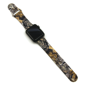Watch Band 076b 08 42mm 44mm watch band forest leaves