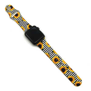 Watch Band 039d 08 42mm 44mm watch band sunflower stripe