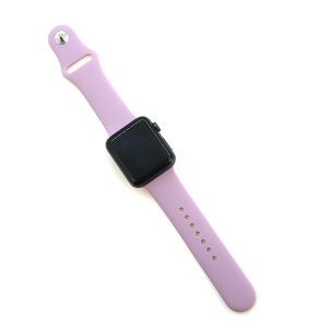 Watch Band 028 08 silicon rubber 38mm 40mm purple