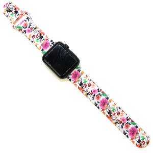 Watch Band 078c 42mm 44mm floral