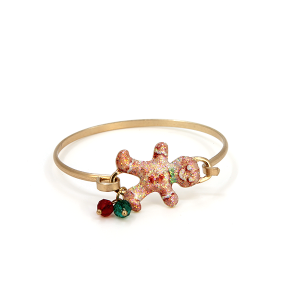 Christmas Bracelet 029a 12 Tipi Gingerbread cookie