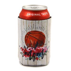 Drink Sleeve 084 12 Tipi floral wood basketball mom