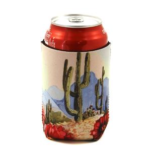 Drink Sleeve 129a 12 Tipi floral cactus desert