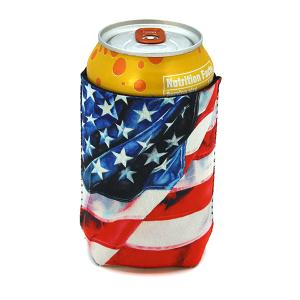 Drink Sleeve 054b 12 Tipi USA flag