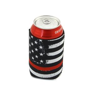 Drink Sleeve 114a 12 Tipi red line USA Flag