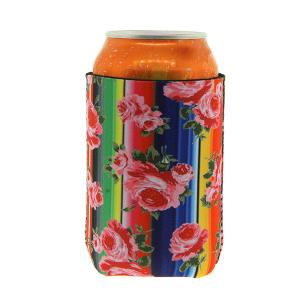Drink Sleeve 038c 12 Tipi serape flower