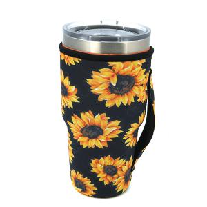 Tumbler Sleeve 071 12 Tipi sunflower black