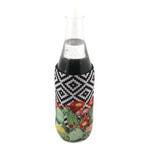 Bottle Cooler 102 12 Tipi geometric cactus
