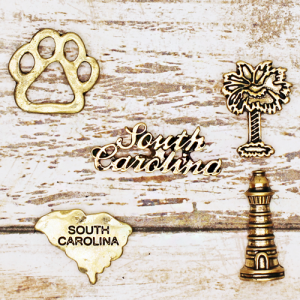 lapel pin 018 12 Tipi South Carolina pin set gold
