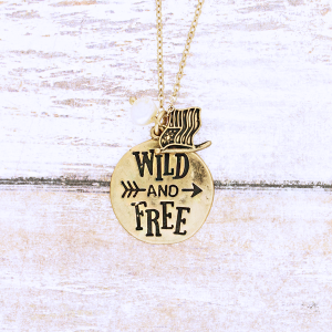 neck 1100g 12 Tipi Wild and Free gold