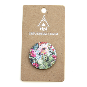 Phone Charm 032 Sticker 12 Tipi floral