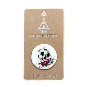 Phone Charm 058 12 Tipi phone charm sticker adhesive soccer mom