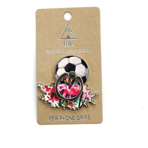 Phone Charm 006c 12 Tipi Phone Stand Ring soccer mom