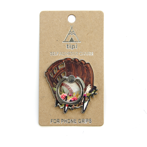 Phone Charm 030b 12 Tipi Phone Stand Ring baseball mom