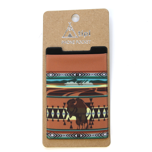 Phone Pocket 019a 12 Tipi Buffalo Brown