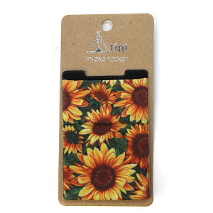 Phone Pocket 011a 12 Tipi sunflower