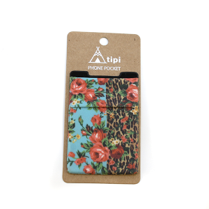 Phone Pocket 024 12 Tipi Leopard Rose