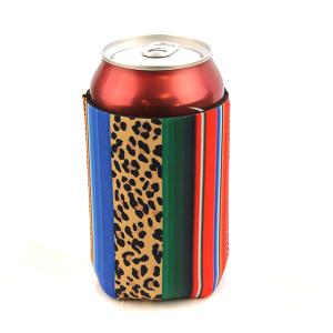 Drink Sleeve 014a 12 Tipi serape stripe leopard