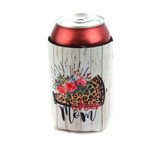 Drink Sleeve 038 12 Tipi cheer mom leopard