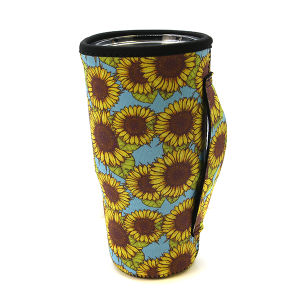 Tumbler Sleeve 022a 12 Tipi Sunflower