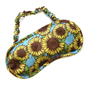 Sleep mask 003 Sunflower