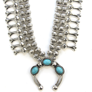 Necklace 755 12 Tipi navajo stone necklace turquoise