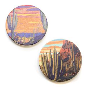 Car Coaster 034 Western Desert Cactus