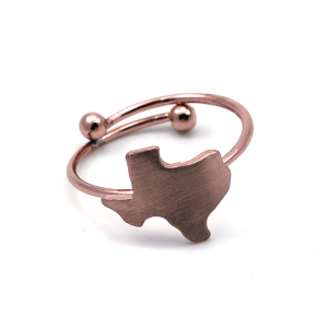 Ring 027 16 Crystal Avenue Texas ring rose gold
