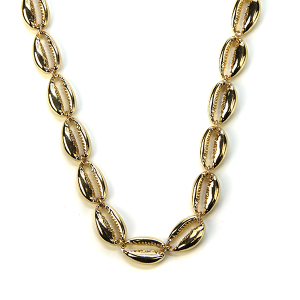 Necklace 146 21 Dorothy seashell necklace choker gold