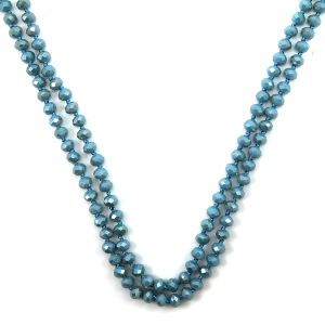Necklace 1636a 22 No. 3 30 60 inch bead necklace bl294ab