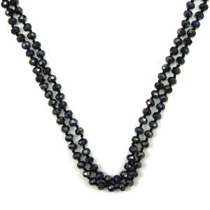 Necklace 1597a 22 No. 3 30 60 inch bead necklace he22ab