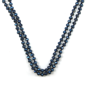 Necklace 1471 22 No. 3 30 60 inch bead necklace bl236ab