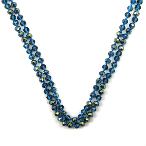 Necklace 1503 22 No. 3 30 60 inch bead necklace bl267ab
