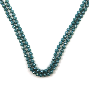 Necklace 1560j 22 No. 3 30 60 inch bead necklace bl295ab