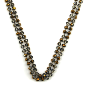 Necklace 849a 22 No. 3 30 60 inch bead necklace bz100