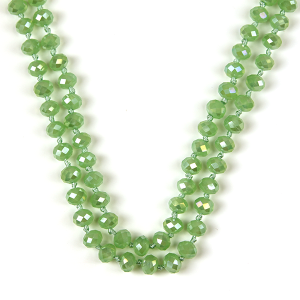 Necklace 471 22 No. 3 30-60 inch bead necklace gr100