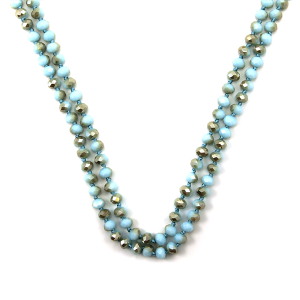 Necklace 1553 22 No. 3 30 60 inch bead necklace gy308ab