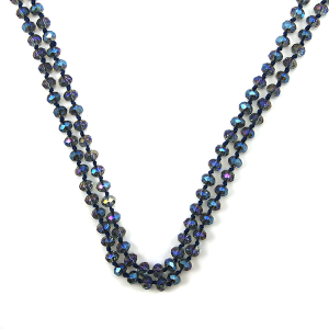 Necklace 1489 22 No. 3 30 60 inch bead necklace gy312