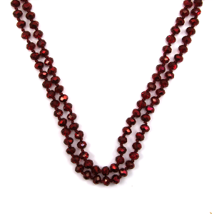 Necklace 697b 22 No. 3 30 60 inch bead necklace rd344ab