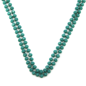 Necklace 1506 22 No. 3 30 60 inch bead necklace tq