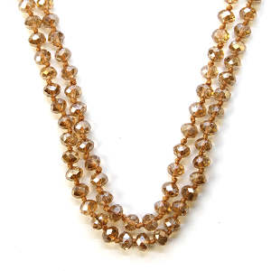 Necklace 1527 22 No. 3 30 60 inch bead necklace tz237ab