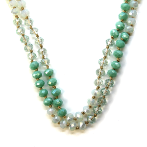 Necklace 790a 22 No. 3 30 60 inch bead necklace mt89