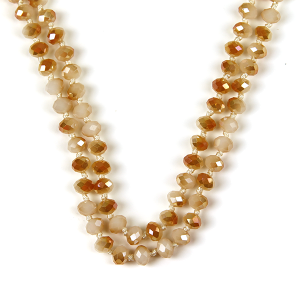 Necklace 428a 22 No. 3 30-60 inch bead necklace nt243ab