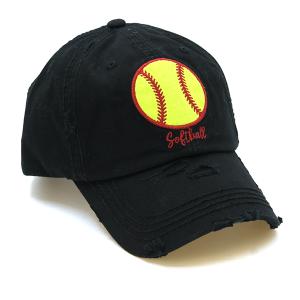 Cap 152a 30 KBEthos softball cap black