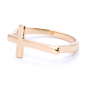 (Bracelet 753o 33 Lucky You) Cross magnetic bangle gold
