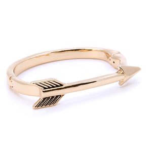 (Bracelet 723c 33 Lucky You) Arrow magnetic gold